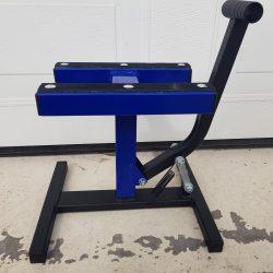 MX Works Light motoremelő bak, kék-fekete színben