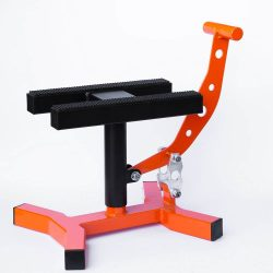 MX Works Pro motoremelő bak, TLD fekete-narancs színben