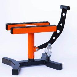 MX Works Pro motoremelő bak, narancs-fekete színben