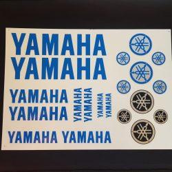 Yamaha matrica szett, Táblás