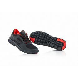 Acerbis Corporate Running cipő, Fekete-piros