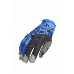 Acerbis  MX-X-P cross kesztyű, fekete-kék