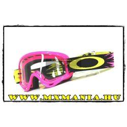 Oakley XS-O Frame MX High Voltage Pink cross szemüveg