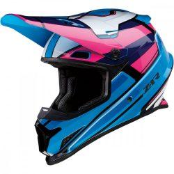 Z1R Rise MC  bukósisak, Blue- Pink