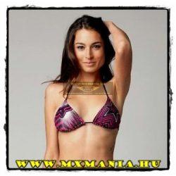 FOX Girl Rockstar Spike Vortex Triangle bikini felső