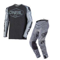 ONEAL 2020 MAYHEM HEXX GREY/BLACK CROSS SZETT