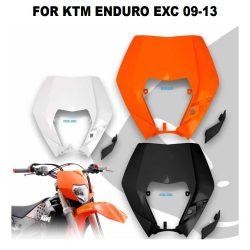 KTM EXC fejidom 3 féle színben, KTM ENDURO EXC 09-13