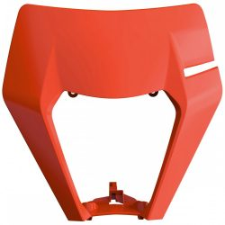 KTM EXC fejidom fluo narancs színben, KTM ENDURO EXC 17-19