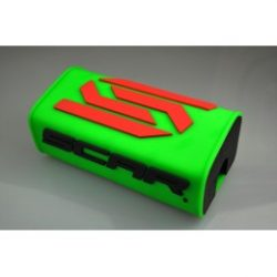 Scar Oversize O2 kormányszivacs, fluo zöld