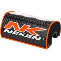 Neken 28,6mm  3D kormányszivacs,fekete-narancs