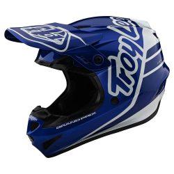 Troy Lee designs GP Silhouette Blue bukósisak