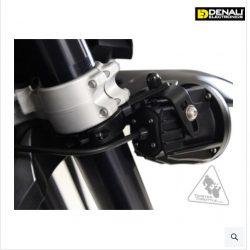 DENALI invertált villalámpatartó Ø50-60mm fekete
