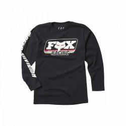 FOX thorwback  gyerek  póló, fekete