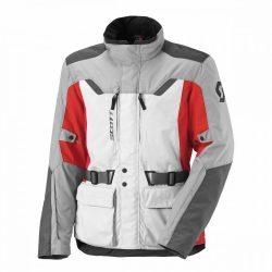 SCOTT Turn TP GREY-RED kabát