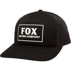 Fox Heater Trucker Snapback fekete