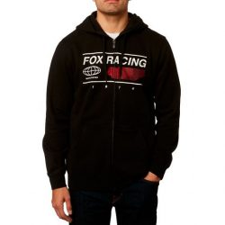 Fox Global Black kapucnis pulóver, XL méret