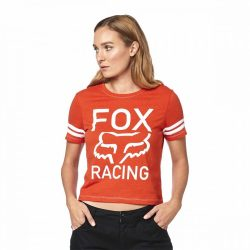 FOX GIRL  ESTABLISHED  PÓLÓ,  NARANCS