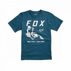 FOX Hold Fast gyerek póló, kék