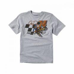FOX Trackside gyerek  póló , szürke