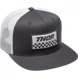 Thor Checkers Black-white snapback sapka