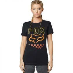 Fox Richter SS póló, fekete