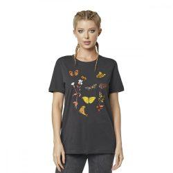 Fox Girl  Monarch  póló , fekete