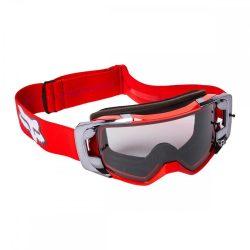 Fox VUE cross szemüveg  stray fluo-red  viztiszta lencsével