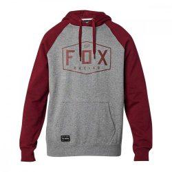 Fox Ffi pulóver Crest szürke-bordó