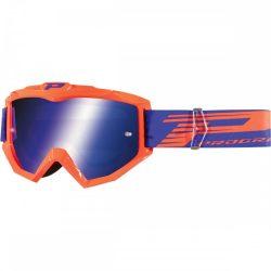 Progrip 3201 Atzaki cross szemüveg, fluo ornage színben