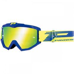 Progrip 3201 Atzaki cross szemüveg, kék színben