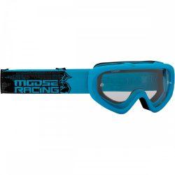 Moose Racing Qualifier motoros szemüveg, kék