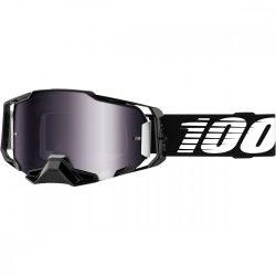100% ARMEGA Black cross szemüveg ezüst tükrös lencsével