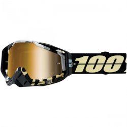 100% Racecraft Ergoflash szemüveg arany tükrös lencsével