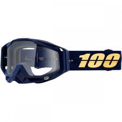 100% Racecraft Bakken szemüveg víztiszta lencsével