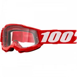 100% Accuri 2 piros gyerek szemüveg víztiszta lencsével
