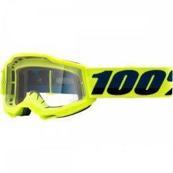 100% Accuri 2 fluo sárga gyerek szemüveg víztiszta lencsével