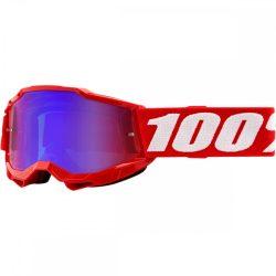 100% Accuri 2 piros gyerek szemüveg tükrös lencsével