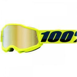100% Accuri 2 fluo sárga gyerek szemüveg tükrös lencsével