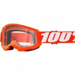 100% Strata 2 narancs gyerek szemüveg víztiszta lencsével