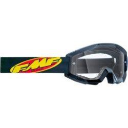FMF VISON Youth Core Goggles - Black - Clear - FEKETE, VIZTISZTA