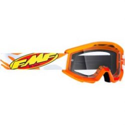 FMF VISON Youth Core Goggles - NARANCS, VIZTISZTA