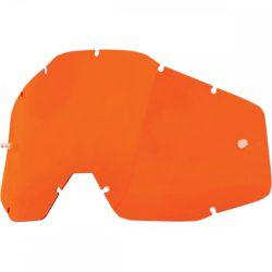 100% Accuri/Strata/Racecraft narancs szemüveg lencse