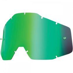 100% Accuri/Strata/Racecraft zöld tükrös szemüveg lencse