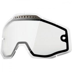 100% VENTED Accuri/Racecraft/Strata Dual viztiszta szemüveg lencse