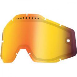 100% VENTED Accuri/Racecraft/Strata Dual piros tükrős szemüveg lencse