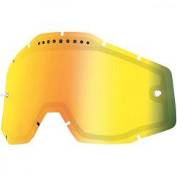 100% VENTED Accuri/Racecraft/Strata Dual arany tükrős szemüveg lencse