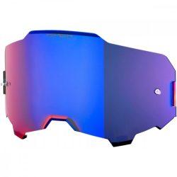 100% Armega Hiper kék tükrös szemüveg lencse