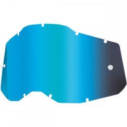 100% Accuri 2/Strata 2 kék tükrös gyerek szemüveg lencse