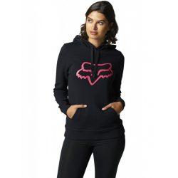 Fox Girl  Boundary Hoody, fekete-pink