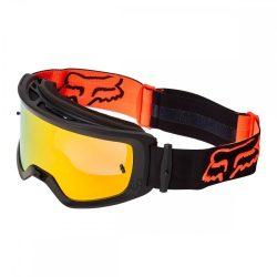 Fox main stray spark  cross szemüveg fekete-narancs